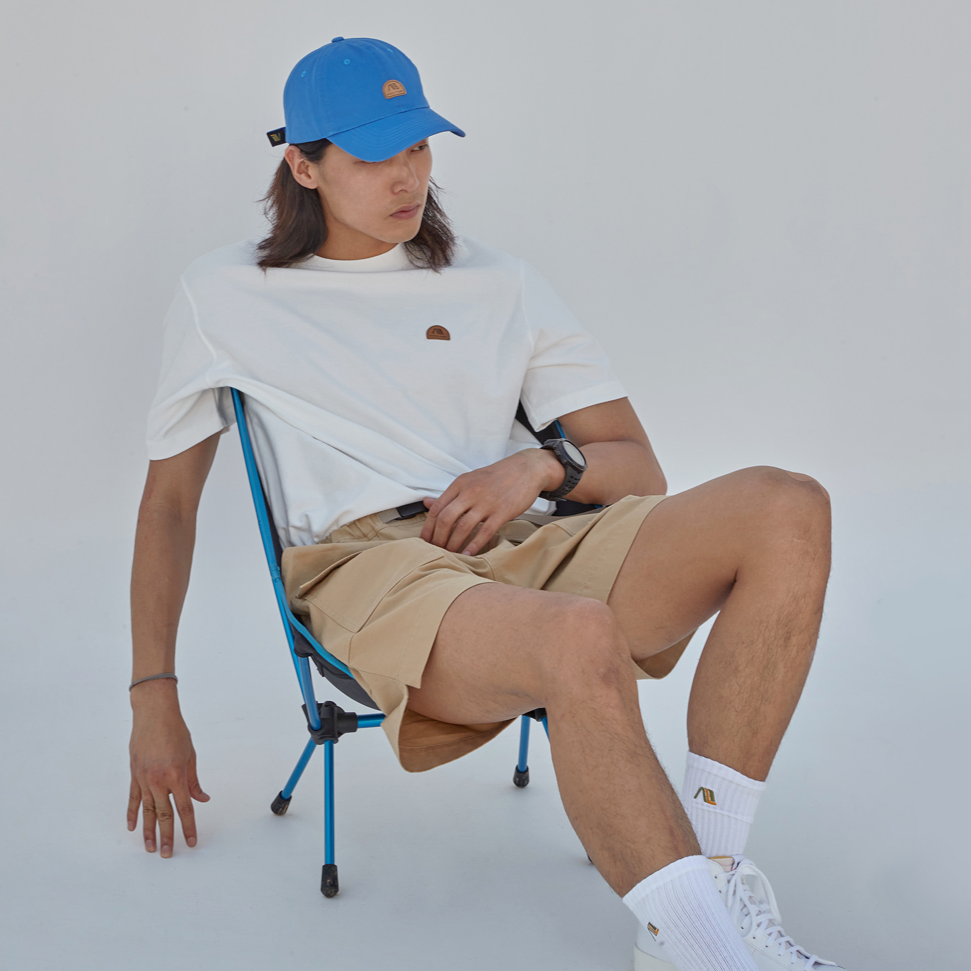 Wappen ball cap(Blue)