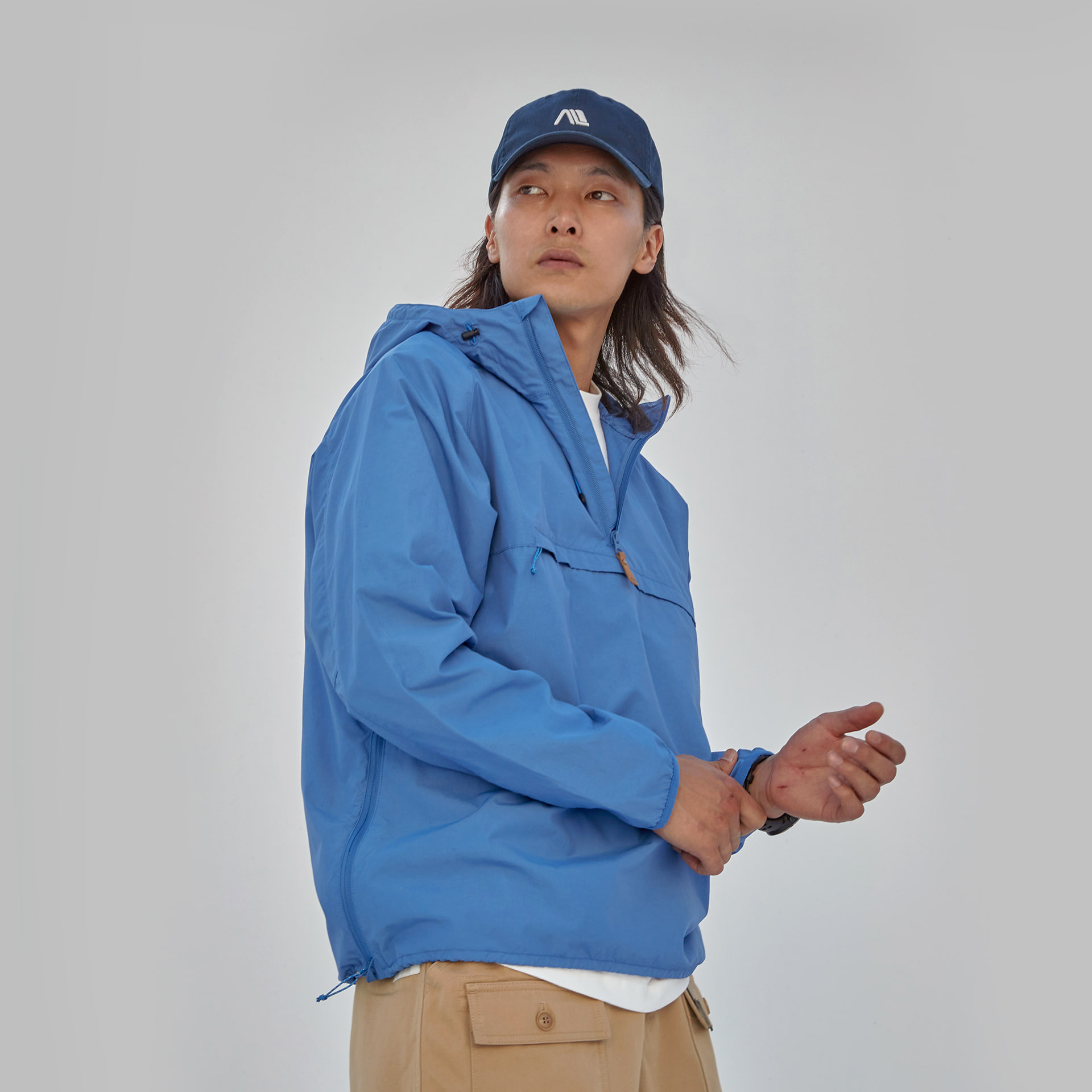 Another Anorak(Classic-Blue)