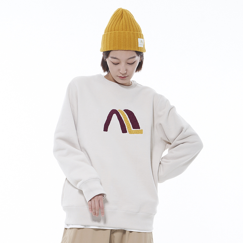 Another Sweat Shirt (Cream)
