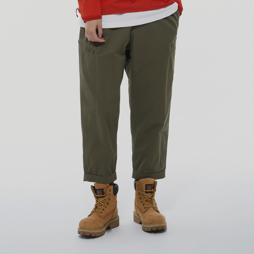 Leader Wide pants (Khaki)