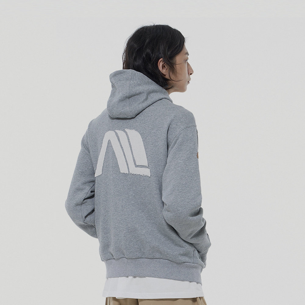 Another Patch Hood Zip-up (3Color)