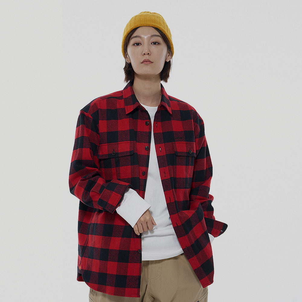 Winter Check Shirt (Red)