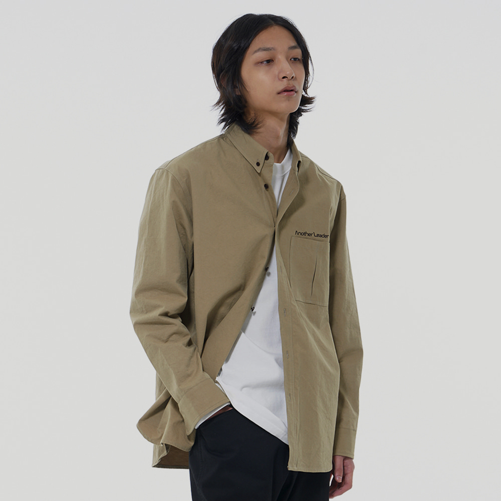 Washing Standard Shirt (Khaki)