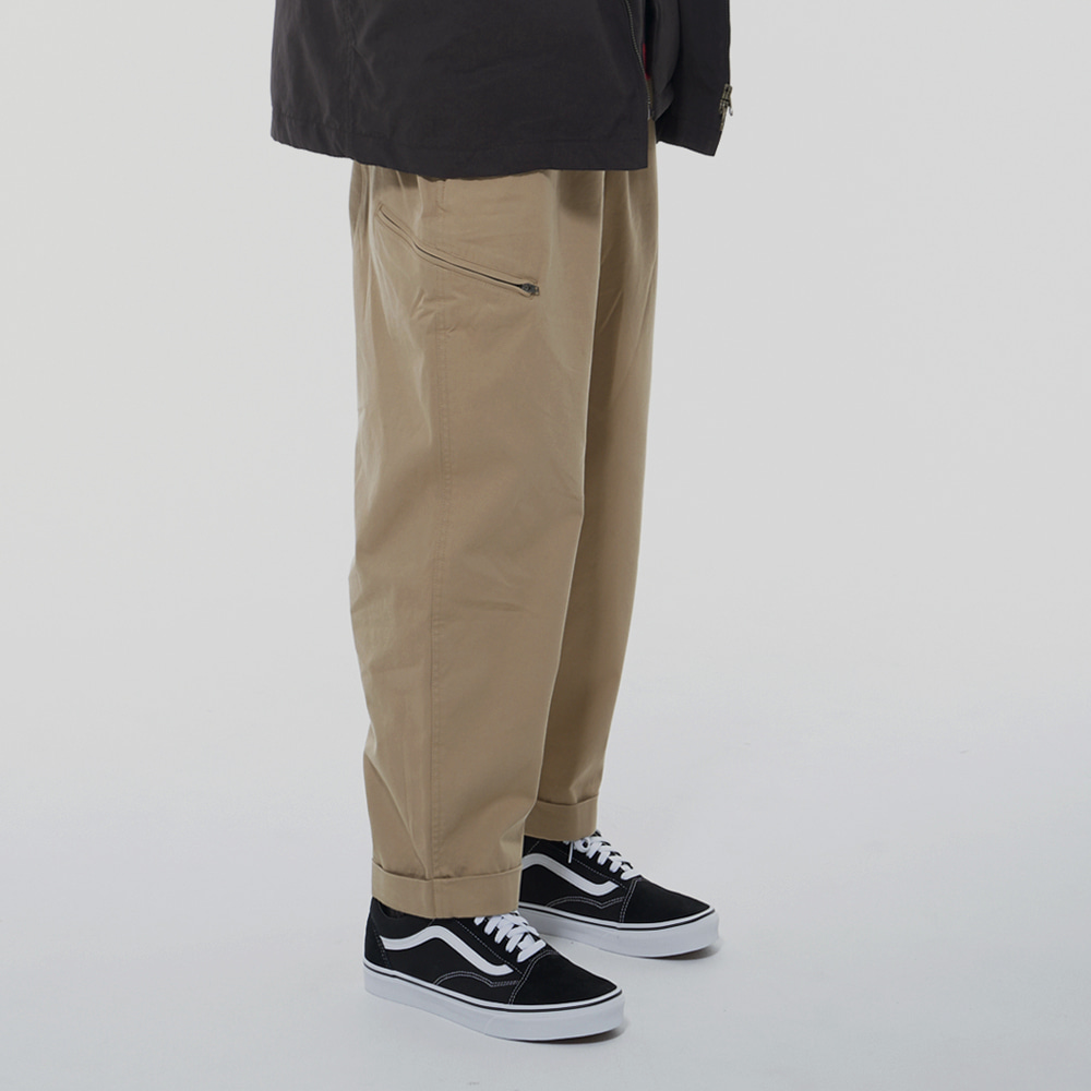 Leader Wide pants (Beige)