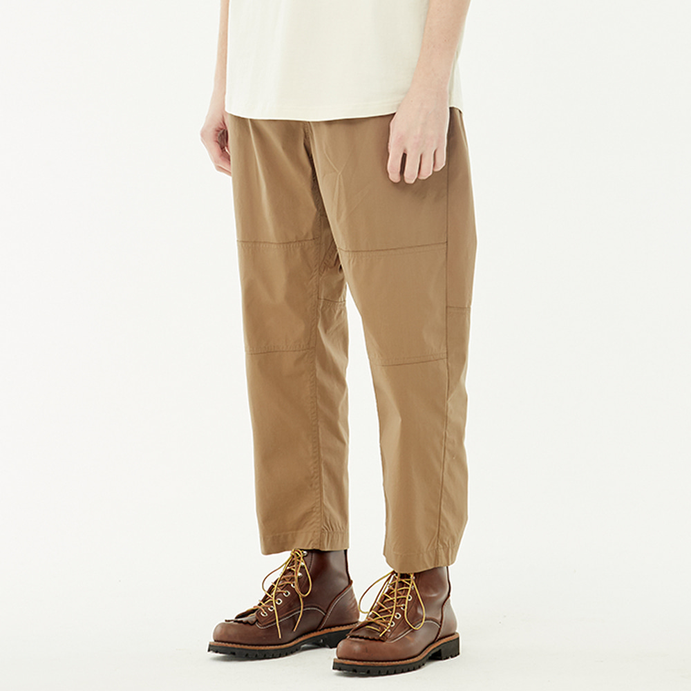 S/S loose pants (Beige)