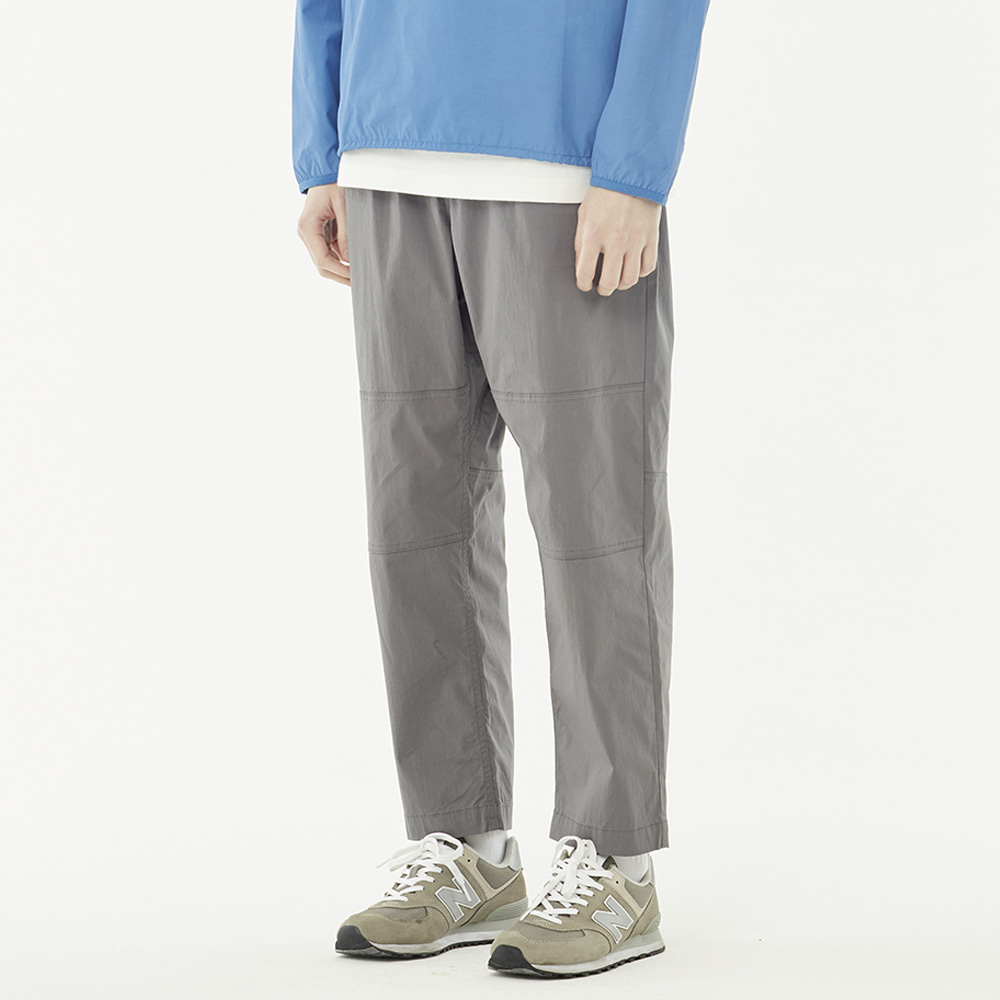 S/S loose pants (Gray)