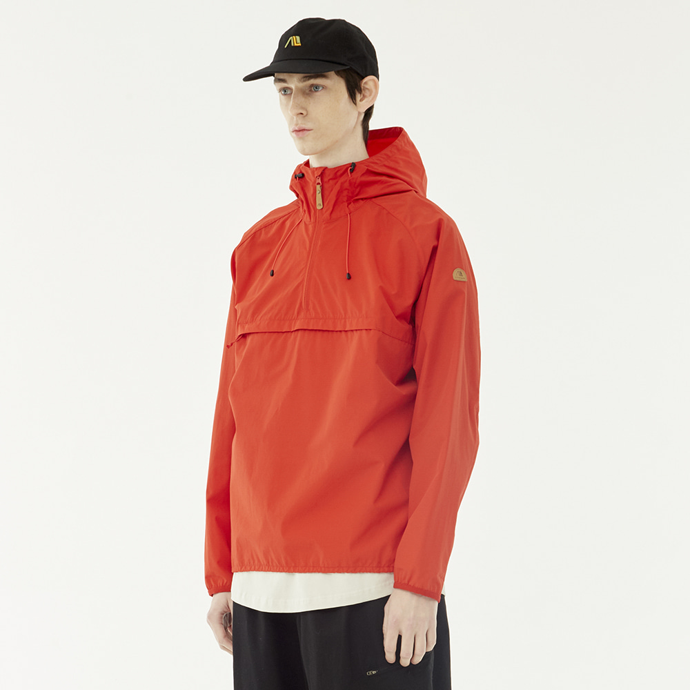 [40%]Membrane Anorak (Red)